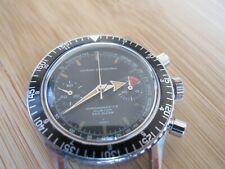 Nivada Grenchen Chronomaster aviator sea diver vintage chronograph valjoux 23