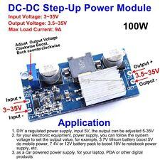 100W DC-DC Boost Converter 3-35V 12V to 3.5-35V 9A Step Up Power Supply Module