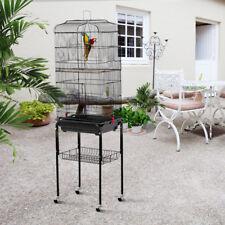 Vogelvoliere Vogelkäfig Käfig für Vogel Wellensittich Papagei 158x 46 x 35,5 cm