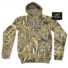 DRAKE WATERFOWL SYSTEMS COLLEGIATE HOODIE HOODED SWEATSHIRT MAX-5 CAMO 2XL