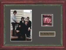 THE ROLLING STONES MICK JAGGER FRAMED 35MM FILM CELL
