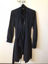 Authentic Vanessa Bruno Black Coat Wool Blend - FR 36, AU 8 - S