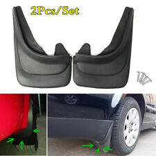 "14.17""x9.45"" 2Pcs Black ABS Soft Plastic Car Front/Rear Mud Flaps Splash Guards"