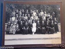 Photo Ancienne Portrait Mariage Famille - an. 20