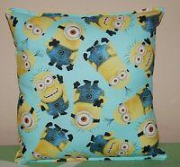 Minion Pillow HANDMADE In USA Teal Minion Pillow New