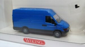 Wiking 1:87 Iveco Daily Transporter OVP 286 01 signalblau - siehe Text