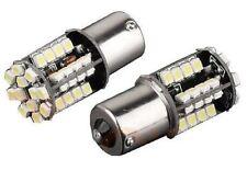 2 Stück LED SMD Tagfahrlicht Daylight TFL Ba15s P21W 1156 XENON weiß 44 SMD WOW