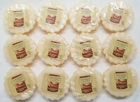 Yankee Candle Tarts: GINGERBREAD MAPLE  Wax Melts Lot of 12 White Cream New