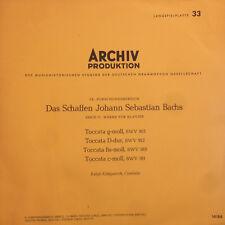 Bach - Archiv Produktion - Serie G:Klavier BWV915,912,910,911-14184-Vinyl LP F11