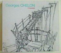 GEORGES CHELON : L'IMPASSE ♦ CD ALBUM RARE + LIVRET PAROLES ♦ Baudelaire