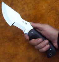 "Custom Tactical Combat survival Knife  ""Tracker"" forged steel (handmade)"