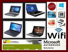 WINDOWS 10 Laptop CORE i3 & i5 8GB Ram 500GB HDD 256GB opciones Ssd Wifi Garantía