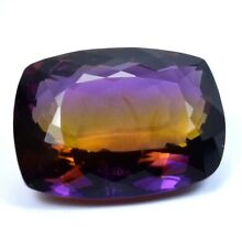 22.85 Ct Huge Trystine Bi-Color Natural Ametrine Loose Gemstones GIE Certified