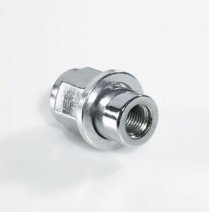 "Grayston Sleeve Wheel Nut, 7/16"" UNF 3/4"" Sleeve & 0.8"" Long Shank, Chrome"