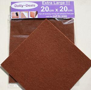 Large Felt Floor Protector Pads | Self Adhesive Laminate Pads Furniture Feet Pad