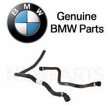 BMW E65 E66 750i 750Li Alpina B7 Set of Two Engine Coolant Water Hoses Genuine