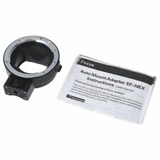 Auto Focus Camera Mount Adapter Ring For Canon EF EF-S Lens To Sony NEX Mount B