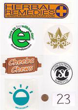 Lot of Marijuana Industry Stickers-Colorado MMJ Dispensary Weed Edibles 420-# 23