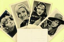 ROSS VERLAG - 1930s Film Star Postcards produced in Germany #6335 to #6450