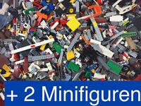 1 kg *gewaschene* Lego Steine + 2 Figuren - Kiloware Kilo - Basissteine, Platten