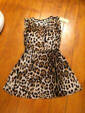 "NWT Chu Vi Vi Size Large Animal Print ""New York"" Dress/Tunic/Lounge Sleeveless"