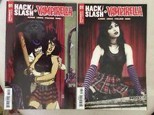 HACK SLASH VS. VAMPIRELLA #1 COVERS B & C DYNAMITE NM UNREAD