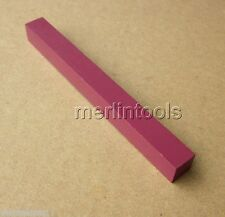 10 x 10 x 100mm Square Ruby Stone Screwdriver Sharpener for Watchmaker Tool