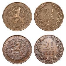 Netherlands - Lot  2½ Cent 1904, 1905