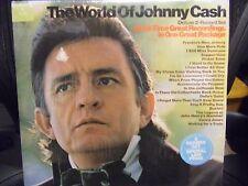Johnny Cash - The World Of Johnny Cash [Columbia] 2xLP EX Rare