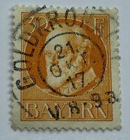 1917 GOLDKRONACH BAVARIA GERMANY WITH SON CANCEL