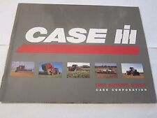 1995 Case International Tractor Equipment Buyer's Guide Catalog LOTS More Listed