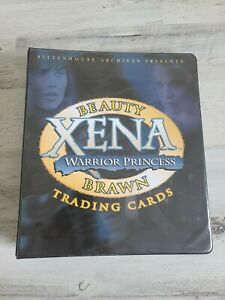 XENA Beauty & Brawn Trading Card Set - SOME AUTOGRAPHS , INSERTS, EXTRAS