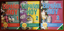Spanisch * El español de hoy *  1, 2 y 3 *  libros de texto educ. secundaria