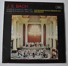 - RICHARD HICKOX Signers and Orchestra Jean Sebastien BACH LP Record -