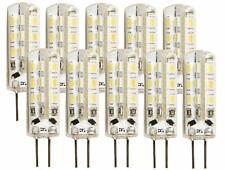 10er PACK - LED Mini G4 12V Stiftsockel Stift Lampe 120lm 360° - warmweiß 3000K