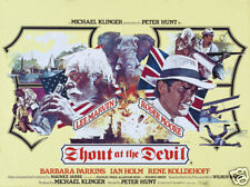 Shout at the devil Lee Marvin Roger Moore movie poster