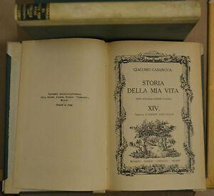 STORIA DELLA MIA VITA, VOL. XIV, Casanova, Corbaccio 1926.Prima ed. Italiana