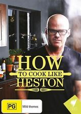 How To Cook Like Heston (DVD) - Region 4 - Very Good Condition