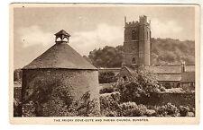Dove Cote - Dunster Photo Postcard c1920 / Minehead