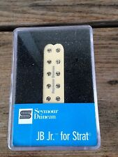 Seymour Duncan JB JR For Strat Humbucker Pickup Creme Single Coil Size SJBJ-1B
