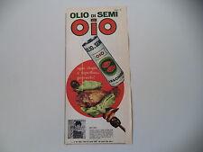 advertising Pubblicità 1967 OLIO DI SEMI OIO