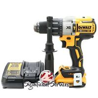 DEWALT 20V MAX XR Li-Ion Brushless 2.0 Ah 3-Speed 1/2 in Hammer Drill Driver Kit