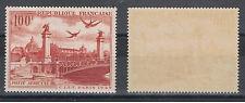 1950 - PA N° 28, 100F rouge-brun - Neuf avec gomme et sans charnière -