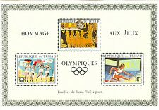 Tchad Olympische Spiele Olympic Games 1972 2 Special blocks MNH high value