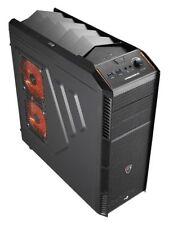 Case nero AeroCool in acciaio per prodotti informatici