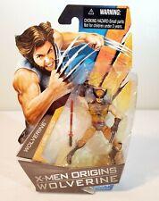 X Men Origins Wolverine Series ~ Wolverine Brown Suit Action Figure ~ Hasbro