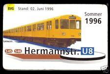 Netzspinne, Berlin, Berliner Verkehrsbetriebe, Miniaturformat, 1996