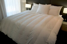 SUPER KING SIZE WALLED & CHANNEL QUILT 70% HUNGARIAN GOOSE DOWN 4 BLANKET WARMTH