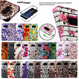 Apple iPod Touch 5th 6th Gen ShockProof Hybrid Rubber Protective Hard Case Cover