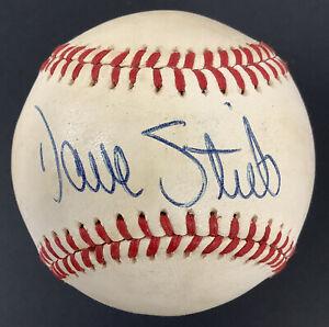 Dave Stieb Signed Baseball MacPhail Toronto Blue Jays Autograph 7x All Star JSA